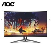 AOC AG323FCXE 32型螢幕顯示器 曲面|黑紅|寬【刷卡分期價】