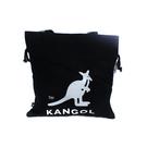 KANGOL 側背包 束口 帆布 黑色 6125171120 noC94