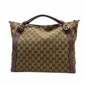 GUCCI 古馳 紫色緹花布手提肩背包 Miss GG Top Handle Bag 323675【BRAND OFF】