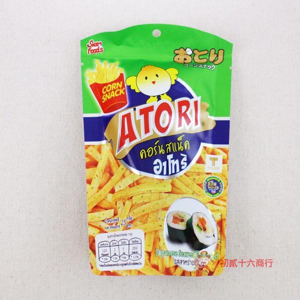 泰國零食日日旺 香脆卡拉薯條(日式海苔味)25g單包入【0216零食團購】8855444007120