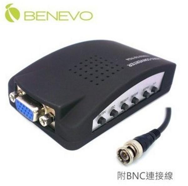 【超人生活百貨】BENEVO BVC0515VS 實用型 BNC-Video轉VGA訊號轉換器將監視畫面接到電腦螢幕觀看