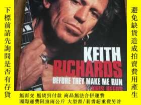 二手書博民逛書店Keith罕見Richards: Before They Mak