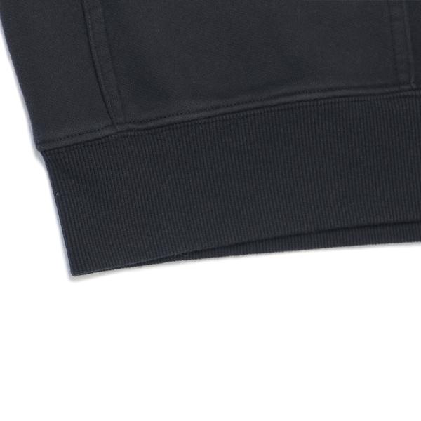 Levis Red 工裝手稿風復刻再造 男款 重磅口袋大學T / 寬鬆休閒版型 / 魚子黑