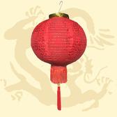 12 植絨雕花福字燈籠