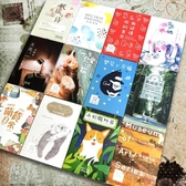 明信片 創意古風清新風格植物卡通動漫詩歌賀卡生日卡片
