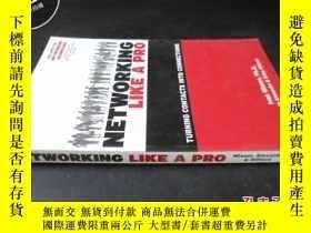 二手書博民逛書店NETWORKING罕見LIKE A PROY5919 不詳.