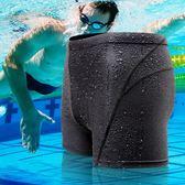 泳褲游泳褲男士平角泳衣泡溫泉防水運動成人專業大碼泳裝  黛尼時尚精品