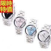 石英錶-造型經典休閒女腕錶4色5j133【巴黎精品】
