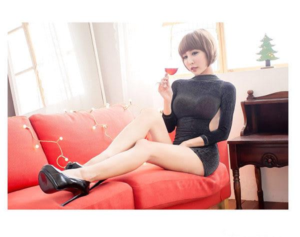 OL簡約性感窄裙俏臀修身短裙~熱銷裸背情趣內衣包臀顯瘦夜店服*流行E線B383