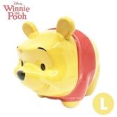 日本限定 迪士尼 小熊維尼 陶瓷 撲滿 存錢筒 / 貯金箱 ( L size)