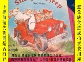 二手書博民逛書店Sheep罕見in a Jeep Lap-Sized Board
