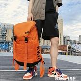 登山包 柒捌良品雙肩包男士潮流運動登山包女大容量旅行背包高中學生書包