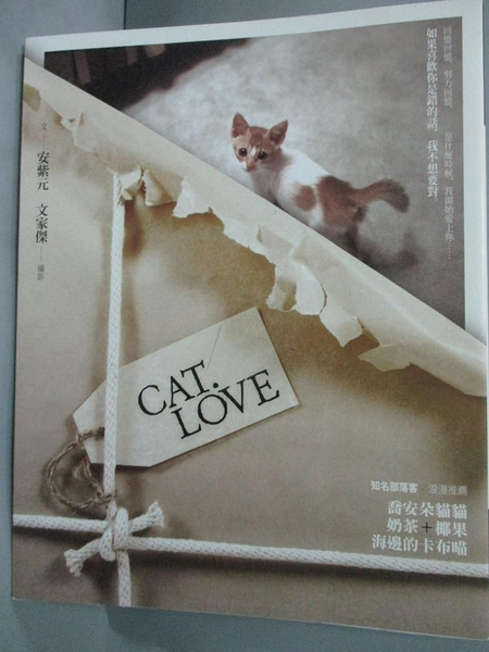 【書寶二手書T2/一般小說_JLE】CAT.LOVE-Message文學信差_安紫元