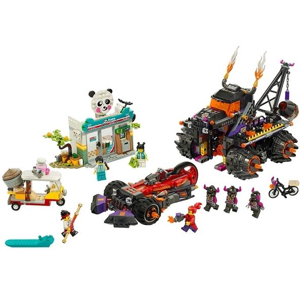 【LEGO樂高】Monkie Kid悟空小俠系列-紅孩兒邪火戰車 #80011