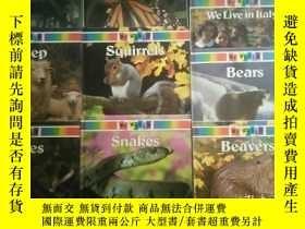 二手書博民逛書店My罕見World(10本)Butterflies、Squirr