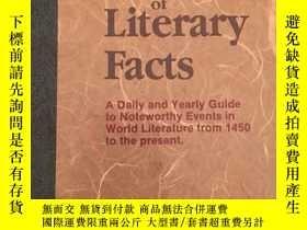 二手書博民逛書店Calendar罕見of Literary FactsY1703