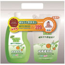 combi (新)奶瓶蔬果洗潔液促銷組