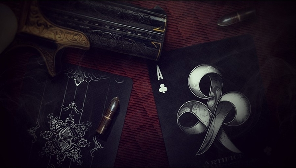 撲克牌black  Artifice V1黑紀念牌 Apex Edition