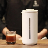 法壓壺 泰摩 小U法壓壺 法式家用耐熱玻璃咖啡機 手沖過濾咖啡器具 450ML  維多