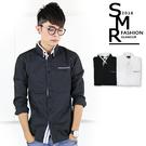 長襯-斜線袋長襯衫-簡約質感款《 004H5477》共2色【現貨+預購】『RFD』