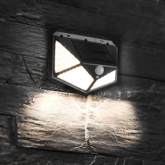 LED燈 太陽能 光感應燈 體感應燈 太陽能充電 照明燈 庭院燈 超廣角 太陽能照明燈【L125】慢思行