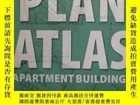 二手書博民逛書店PLAN罕見ATLAS APARTMENT BUILDINGS