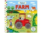 Hello Farm 哈囉!農場 硬頁操作推拉書