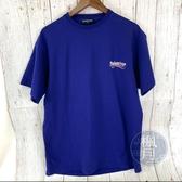 BRAND楓月 BALENCIAGA 巴黎世家 紫色 可樂T T恤 短袖 上衣 男女皆可 XS
