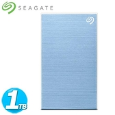 Seagate希捷 Backup Plus Slim 2.5吋 1TB 冰川藍(STHN1000402)