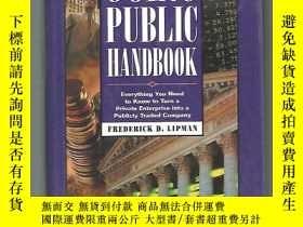 二手書博民逛書店The罕見Complete Going Public HandbookY13822 Frederick D.