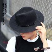 大檐禮帽透氣草帽太陽帽男女出游草帽戶外遮陽帽情侶 『尚美潮流閣』
