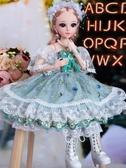 芭比娃娃 小嘴芭比特大號60厘米仿真洋娃娃套裝超大禮盒女孩公主玩具衣服布