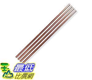 [106 美國直購] The Pineapple MAS-PINESTR-10C Metal Straws 金屬吸管組 Copper, 10吋 (4入) made by W&P Design