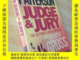 二手書博民逛書店Judge罕見and Jury(法官與陪審團)195426 Ja