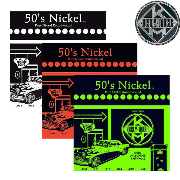 【小叮噹的店】全新 美國 Kerly Music 美製 電吉他弦  50 s Nickel 系列 PN0942~PN1150