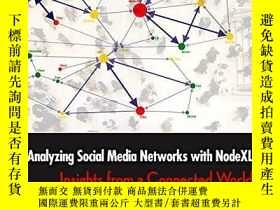 二手書博民逛書店Analyzing罕見Social Media Networks With NodexlY307751 Der