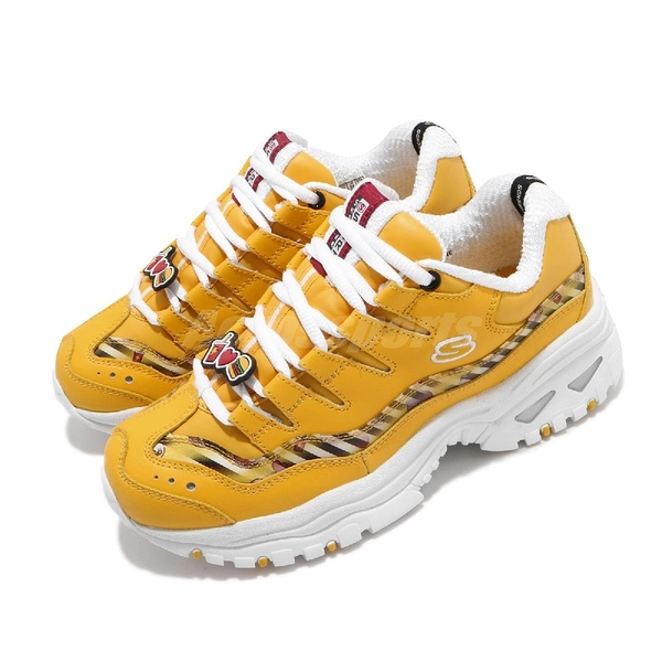 Skechers 休閒鞋 Line Energy Animated Outlook 黃 白 熊大 老爹鞋 【ACS】 13424YEL