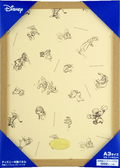 【拼圖總動員 PUZZLE STORY】迪士尼迷你1000P專用框(原木色) 日本進口/Tenyo/木框/29.7*42cm