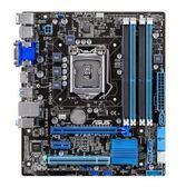 【台中平價鋪】全新 ASUS 華碩 B75M-PLUS 主機板 / 1155腳位 / 前置U3 & 4-DIMM & 全固態電容