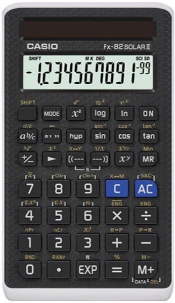 CASIO卡西歐科學款國家考試太陽能計算機(fx-82SOLAR Ⅱ)【KO01015】i-style 居家生活