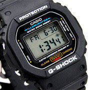 DW-5600E-1 卡西歐 CASIO G-SHOCK 電子錶 方型 『頭文字D』周杰倫配代 44mm 男錶 DW-5600E-1V
