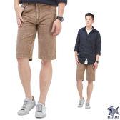 【NST Jeans】熱情邁阿密 格紋復刻泡泡布 休閒短褲(中腰) 390(9426)