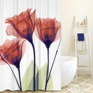 北歐浴室浴簾 衛生間簡約隔斷窗簾防水防霉滌綸加厚淋浴房隱私簾子 BT11403『優童屋』