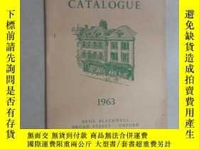 二手書博民逛書店外文書罕見BASIL BLACKWELL S CATALOGUE(共50頁,32開)Y15969 出版1