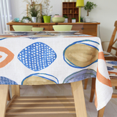 時尚可愛空間餐桌布 茶几布 隔熱墊 鍋墊 杯墊 餐桌巾354 (90*140cm)