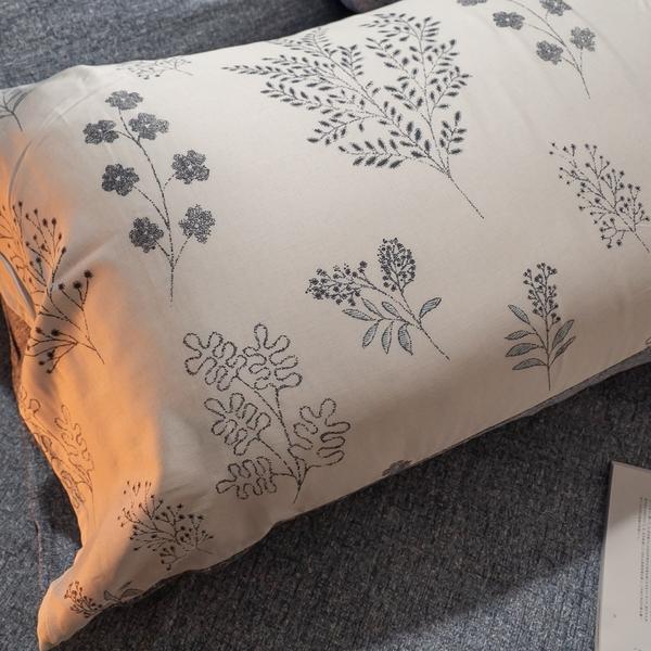 天絲床組 Silicon-forest D4雙人薄床包與兩用被四件組 台灣製(40支) 100%天絲 棉床本舖