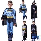 聖誕節萬聖節年會節目表演肌肉服裝蝙蝠俠兒童【英賽德3C數碼館】
