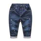 男童牛仔褲 休閒長褲 男寶寶長褲 QY23024 好娃娃