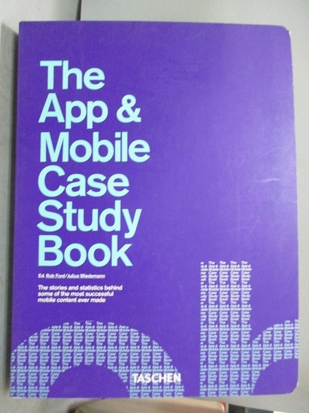 【書寶二手書T6/電腦_JMN】The App & Mobile Case Study Book_Ford, Rob