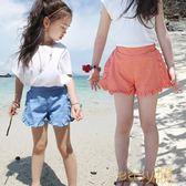 除舊佈新 韓版中大童兒童休閒短褲外穿夏裝女童熱褲薄款純棉小女孩五分褲子